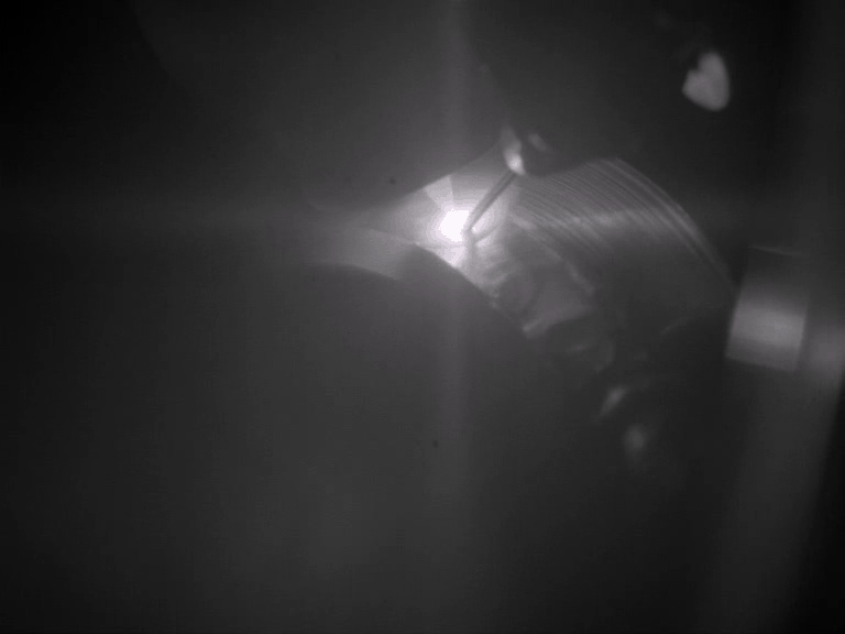 welding captured by NIT camera