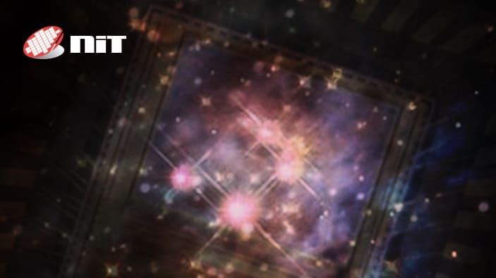 galaxy in SWIR web banner