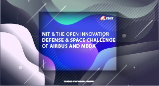 NIT at Airbus and MBDA Open Innovation Defense & Space challenge`