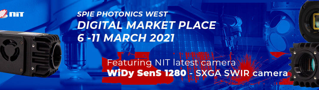 NIT introduces the WiDy SenS 1280 at Photonics West