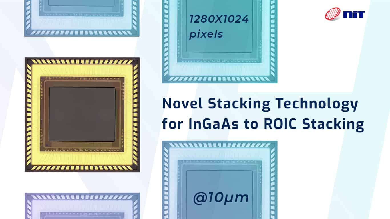 novel stacking technology for InGaAs to ROIC bonding ROIC